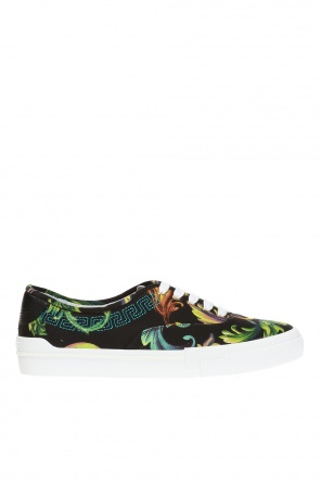 Embellished sneakers od Versace