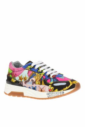 Sneakers with logo od Versace