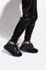 Versace 巴洛克风格图案饰运动鞋