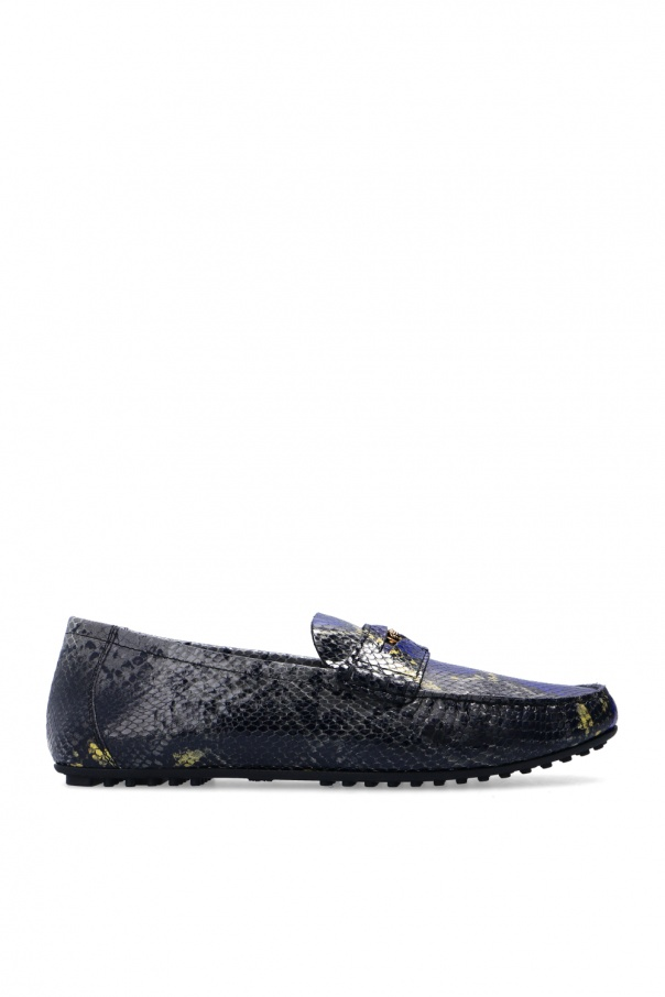 Versace Leather loafers