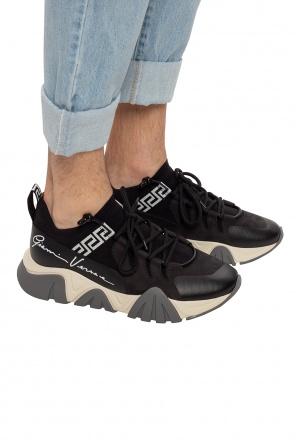 Buty sportowe z logo od Versace