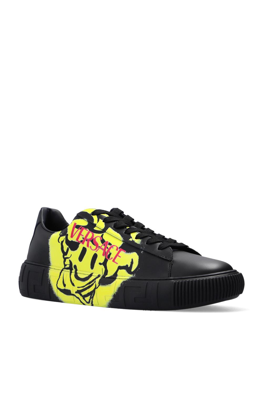 Versace Printed sneakers