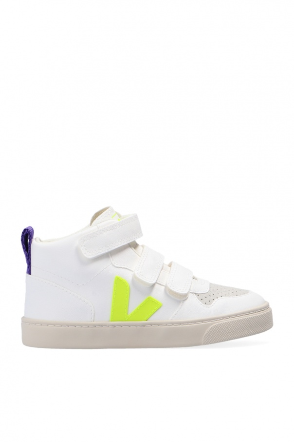Veja Kids 'V-10' high-top sneakers