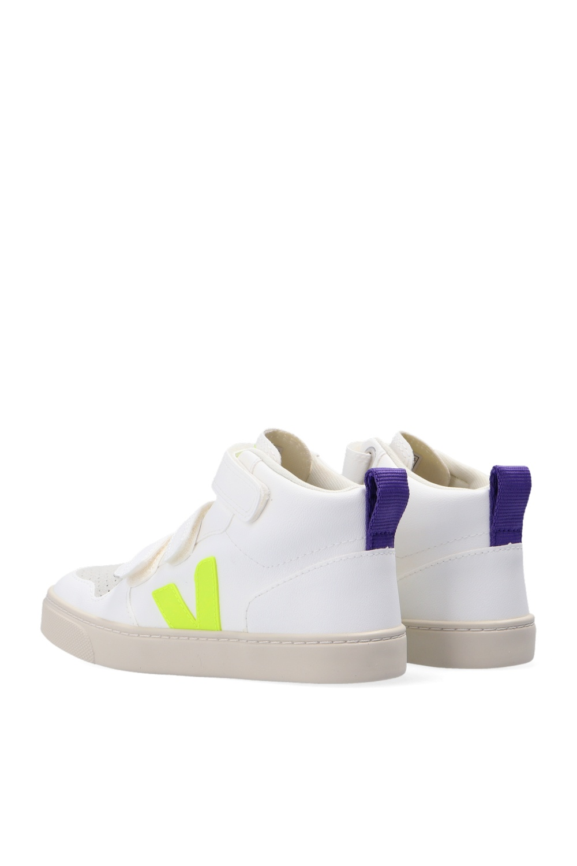 Veja Kids 'V-10' high-top sneakers