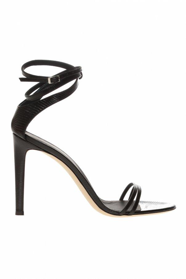 Giuseppe Zanotti Leather stiletto sandals