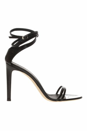 Leather stiletto sandals od Giuseppe Zanotti