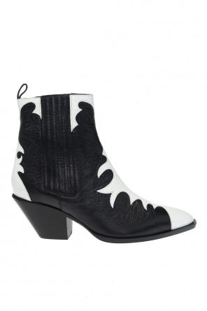'helena' heeled ankle boots od Giuseppe Zanotti