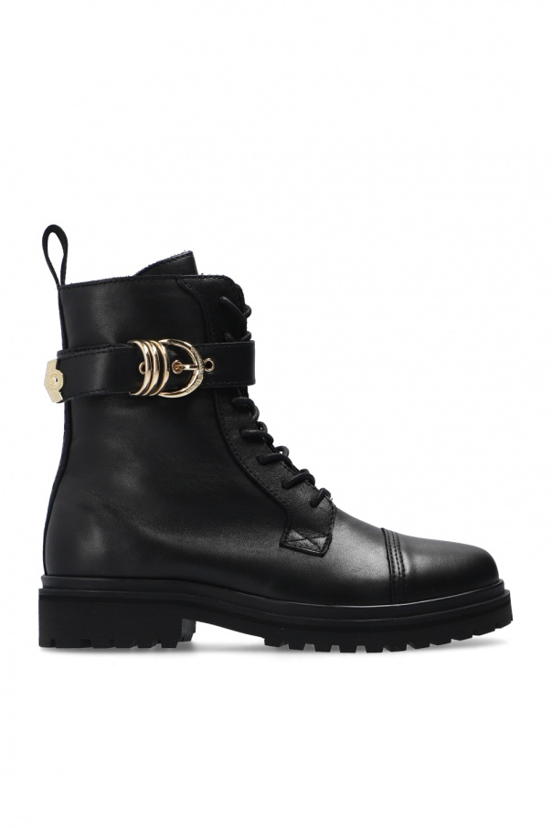 Versace Jeans Couture Leather ankle boots
