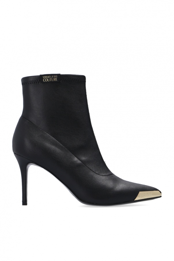 Versace Jeans Couture Stiletto ankle boots