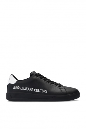 Logo-embroidered sneakers od Versace Jeans Couture