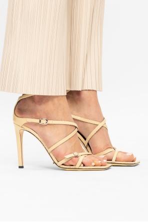 Sandały na szpilce 'tasmania' od Giuseppe Zanotti