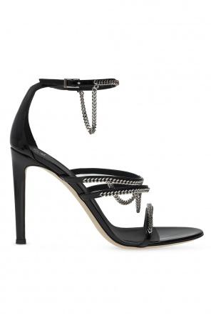 Sandały na szpilce 'catena' od Giuseppe Zanotti