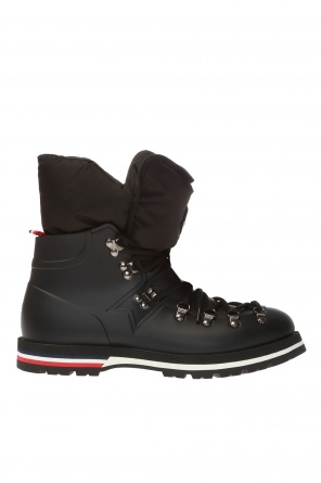 'inaya' boots with logo od Moncler