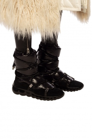 'cora' drawstring snow boots od Moncler