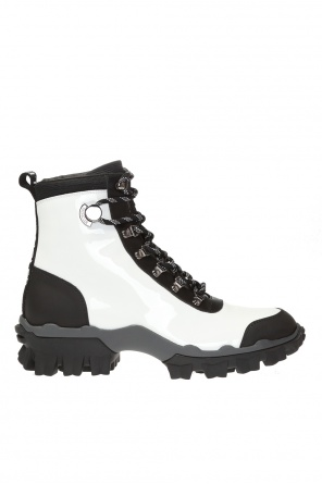 'helis' lace-up boots od Moncler