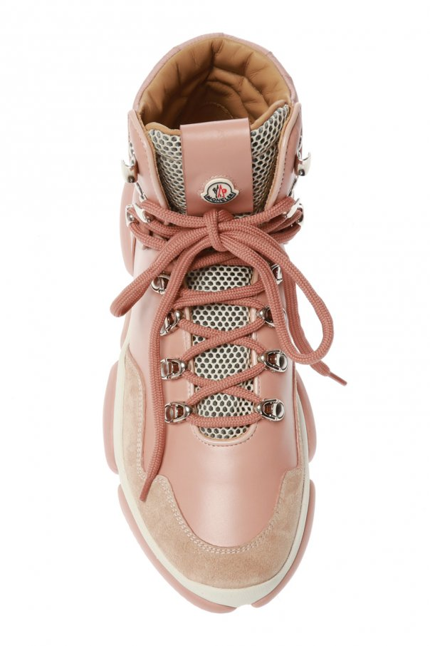 'brianna' leather shoes with logo od Moncler