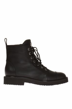'chris low' lace-up ankle boots od Giuseppe Zanotti