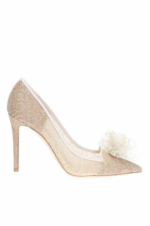 'estelle' appliqued pumps od Jimmy Choo