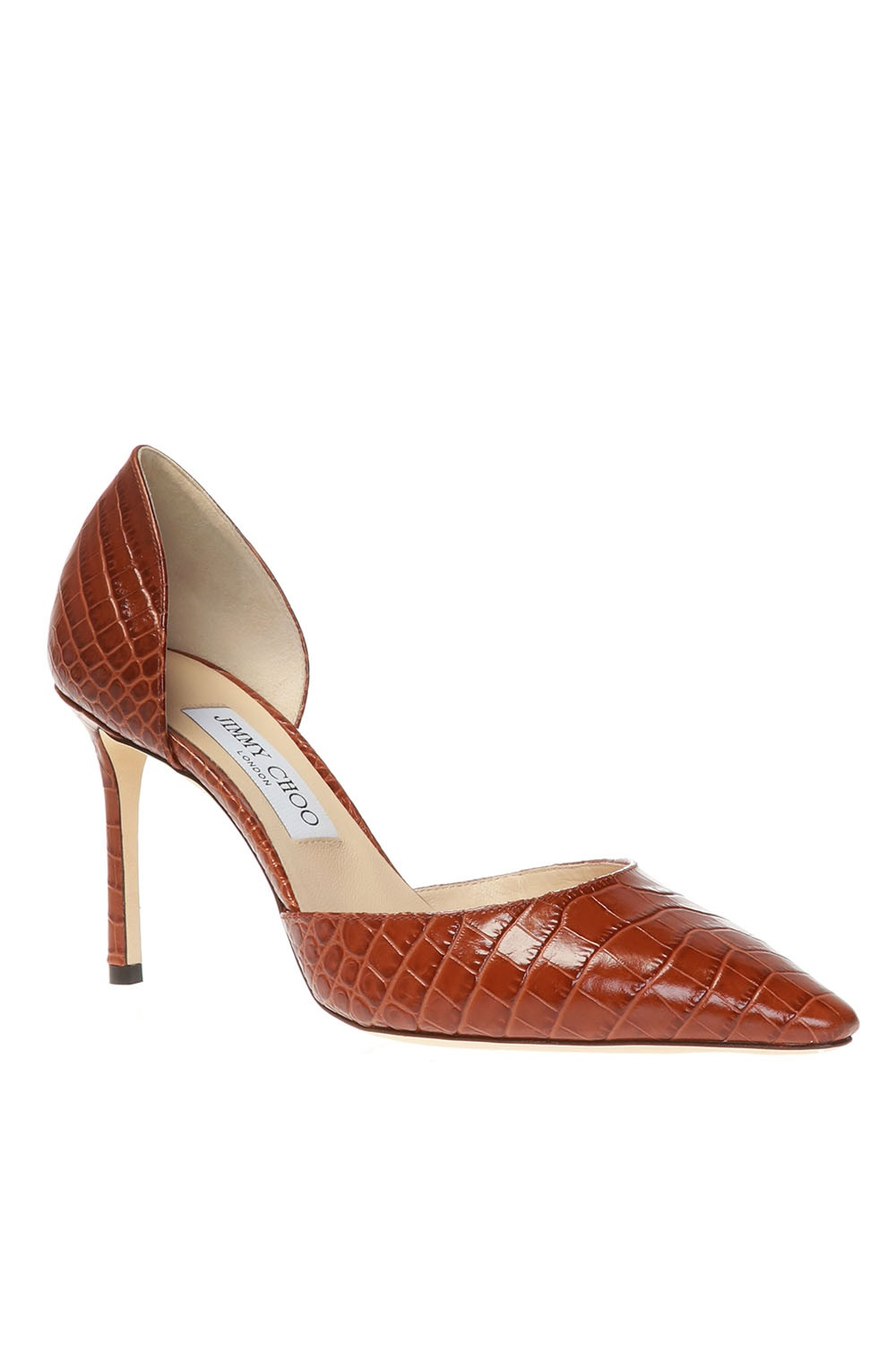 Jimmy Choo 'Esther' leather stiletto pumps