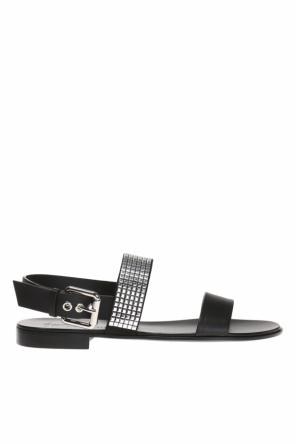 Leather sandals od Giuseppe Zanotti
