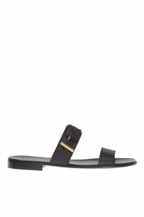 Slides with braided trim od Giuseppe Zanotti