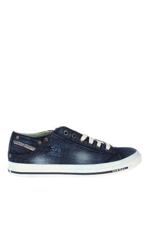 'exposure low i' denim sneakers od Diesel