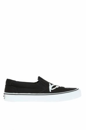 Printed logo slip-on sneakers od Kenzo