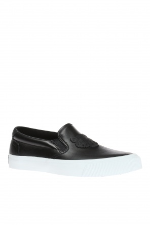 Slip-on sneakers with patch od Kenzo
