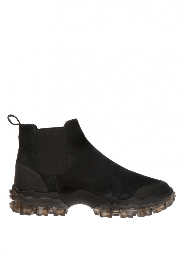 Moncler 'Hayden' ankle boots with logo