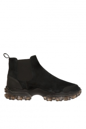 'hayden' ankle boots with logo od Moncler