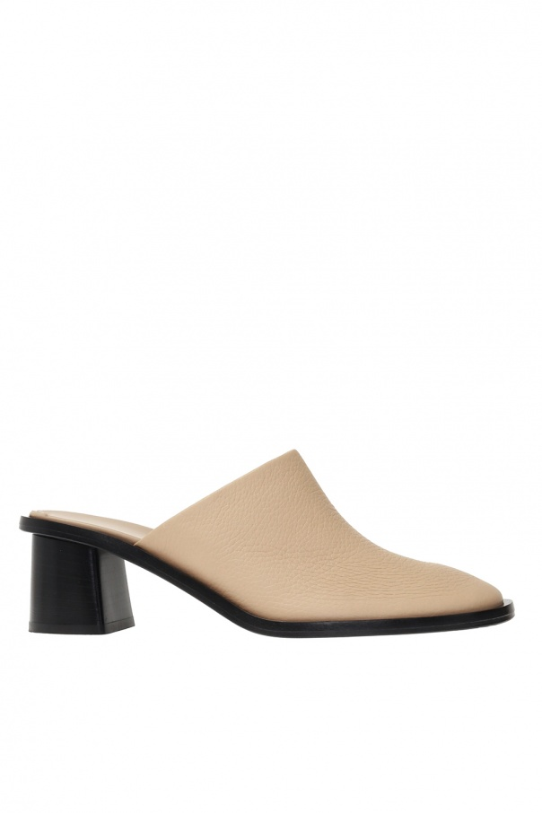 The Row Leather pumps