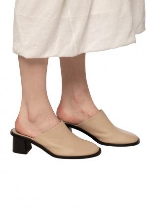 Skórzane buty na obcasie od The Row