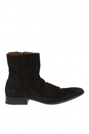'keith' suede ankle boots od John Varvatos