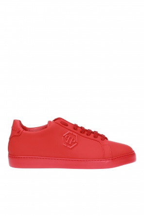Branded leather shoes od Philipp Plein