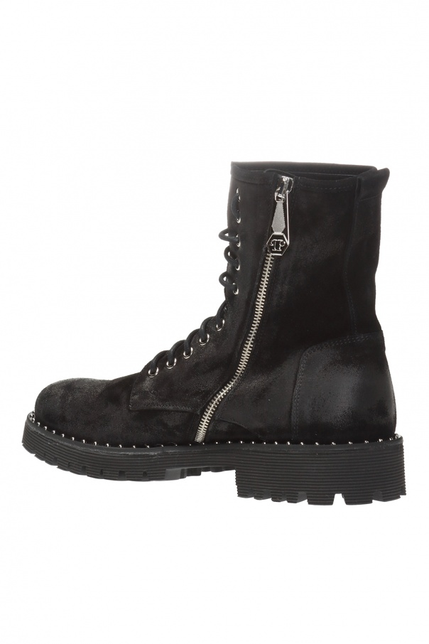 Boots with worn effect od Philipp Plein