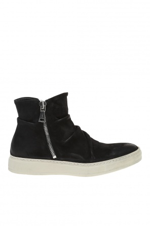 '315 mac' suede high-top sneakers od John Varvatos