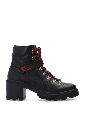 'carol' lace-up heeled ankle boots od Moncler
