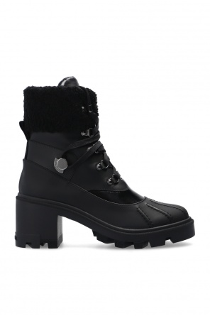 'corrine' lace-up heeled ankle boots od Moncler