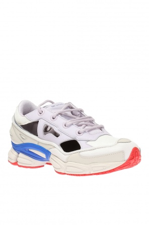 'replicant ozweego' sneakers with socks od ADIDAS by Raf Simons