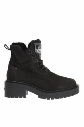 Lace-up boots with logo od Kenzo