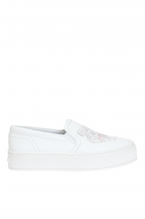 'tiger' platform slip-on sneakers od Kenzo