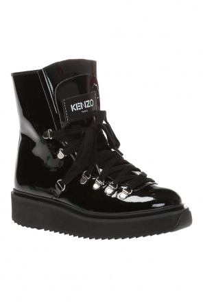 Ankle boots with logo od Kenzo