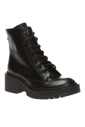 'pike' lace-up boots od Kenzo