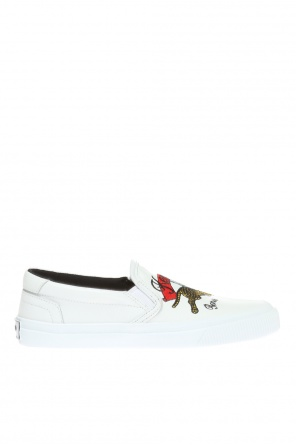 'jumping tiger' slip-on sneakers od Kenzo