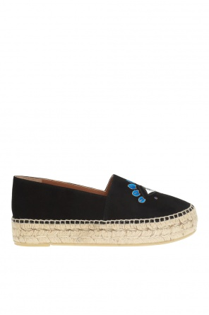 Embroidered espadrilles od Kenzo