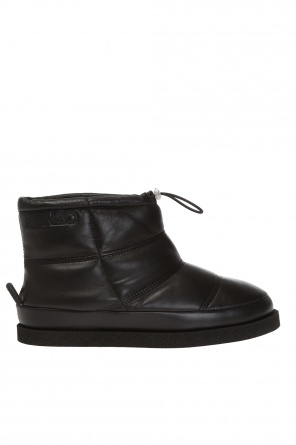 Leather snow boots od Kenzo