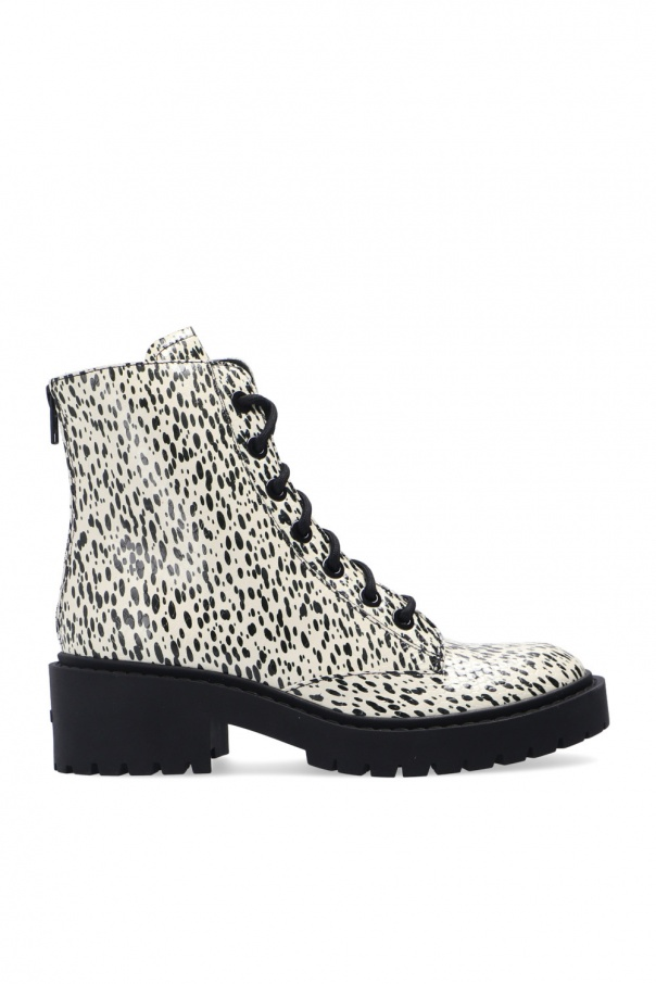 Kenzo Heeled leather ankle boots