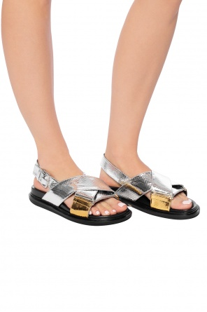 Metallic sandals od Marni