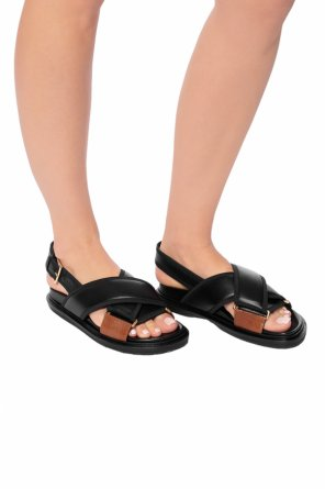 Leather sandals od Marni