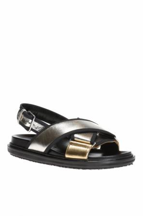 Criss-cross straps sandals od Marni